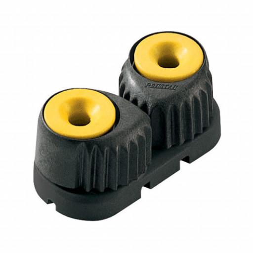Ronstan C-Cleat Schotklemme - klein, gelb