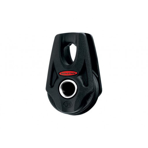 Ronstan Orbit Block Serie 30 BB - einscheibig, Nylatronscheibe