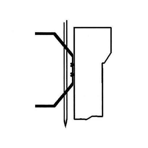 Verklickerklemme für Windfahnen-Verklicker