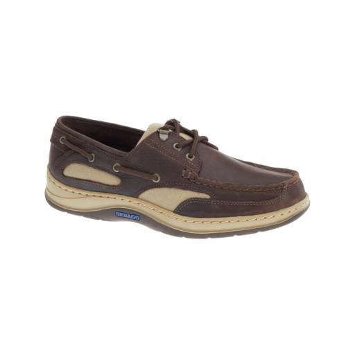 SALE: Sebago Clovehitch II Bootsschuh Herren dark brown leather