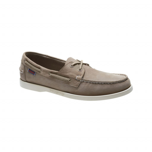 SALE: Sebago Docksides Bootsschuh Herren dark taupe leather