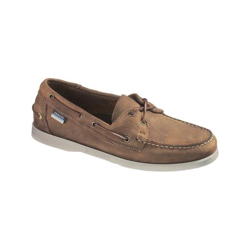 SALE: Sebago Docksides Bootsschuh Herren brown leather