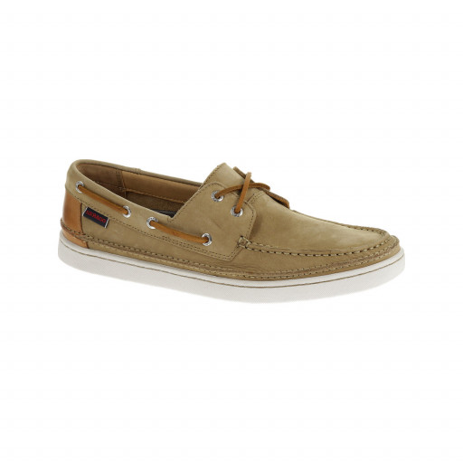 SALE: Sebago Ryde Two-Eye Bootsschuh Herren tan nubuk