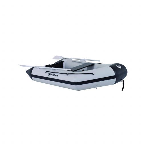 Talamex Aqualine QLX350 Schlauchboot mit Aluminiumboden, Länge 3,50m, grau