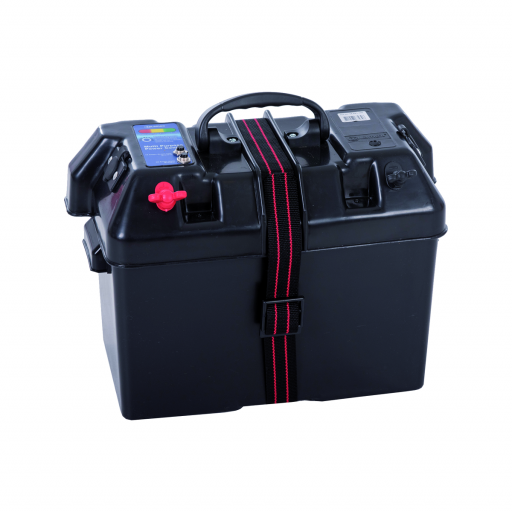 Talamex Batteriebox Power 415x225x300 50A/10A Sicherung