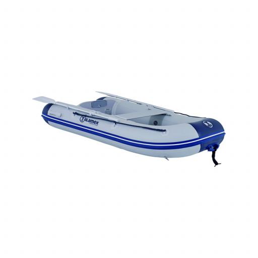 Talamex Comfortline TLS230 Schlauchboot mit Lattenboden, Länge 2,30m, grau