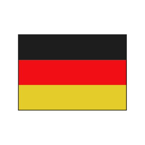 Deutschlandflagge - 20 x 30cm