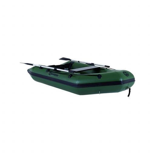 Talamex Greenline GLW300 Schlauchboot mit Holzboden, Länge 3,00m, dunkelgrün
