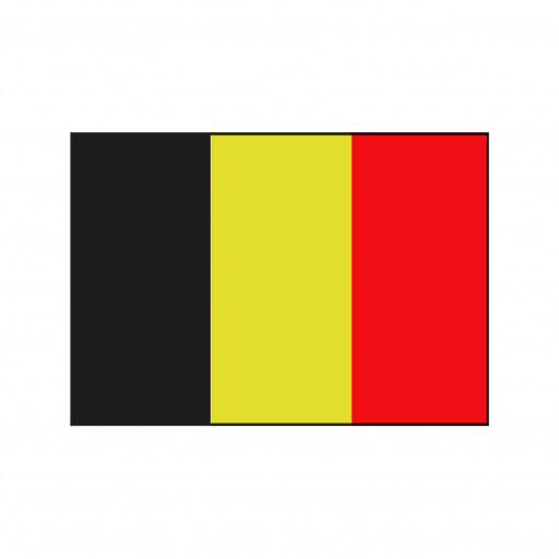 Nationalflagge Belgien - 30 x 45cm