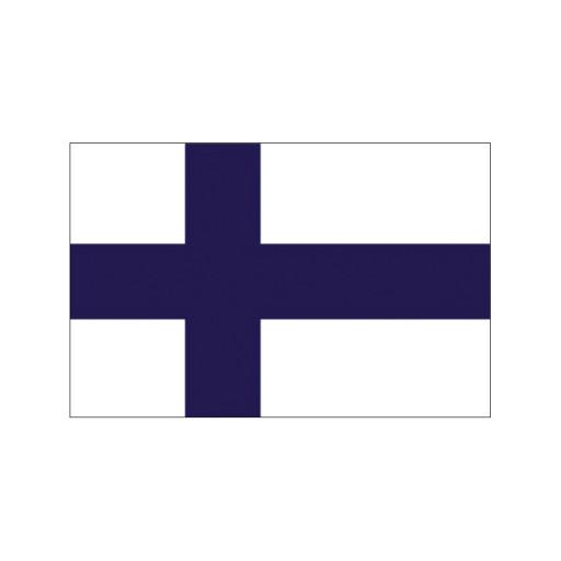 Nationalflagge Finnland - 20 x 30cm