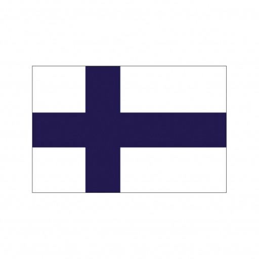 Nationalflagge Finnland - 30 x 45cm