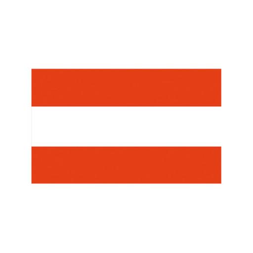 Nationalflagge Österreich - 30 x 45cm