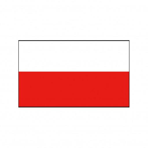 Nationalflagge Polen - 30 x 45cm
