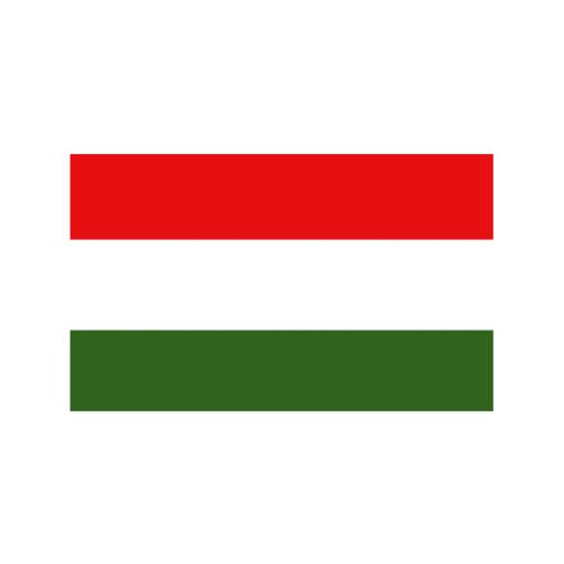 Nationalflagge Ungarn - 20 x 30cm