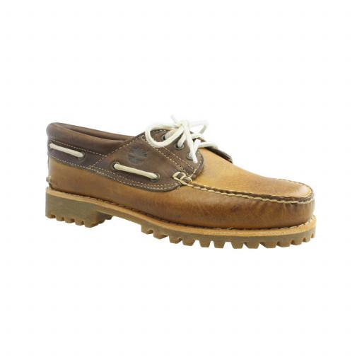 SALE: Timberland Classic Lug Bootsschuh Herren brown tan