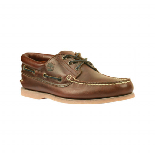DEAL: Timberland Icon Padded Collar Boat Bootsschuh Herren brown