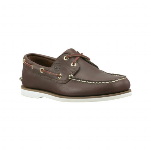 Timberland Classic Boat Bootsschuh Herren dark brown