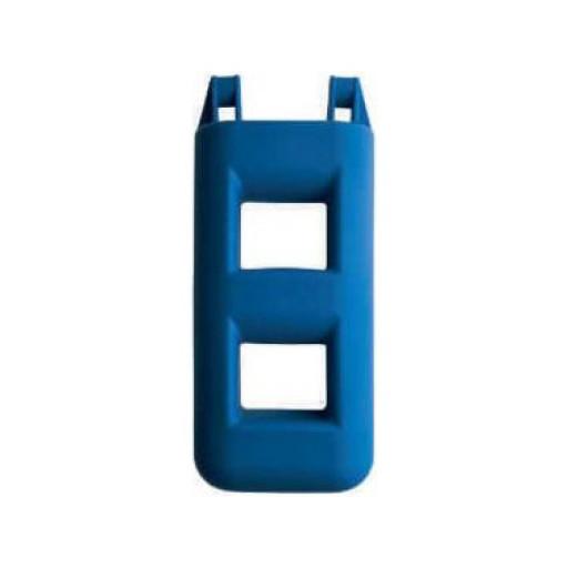 Treppenfender - blau, 2 Stufen