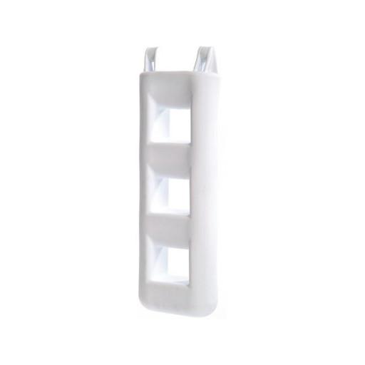 Treppenfender - weiß, 3 Stufen