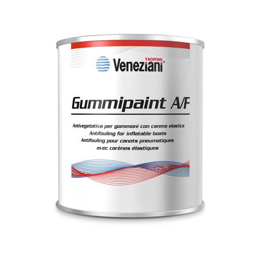 Veneziani Gummipaint Antifouling für Schlauchboote - grau, 500ml