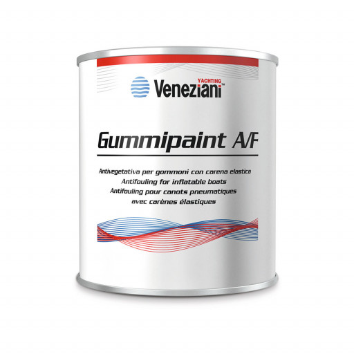 Veneziani Gummipaint Antifouling für Schlauchboote - schwarz, 500ml