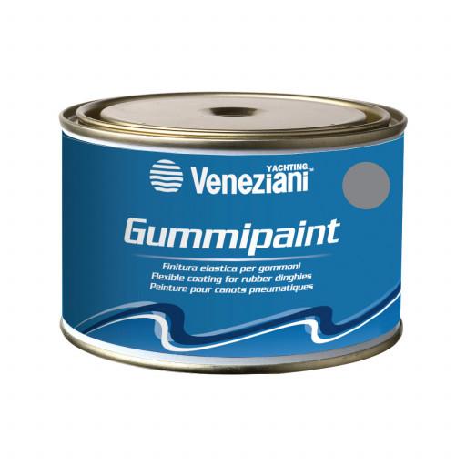 Veneziani Gummipaint Bootslack für Schlauchboote - grau 766, 375ml