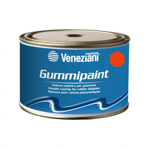Veneziani Gummipaint Bootslack für Schlauchboote - orange 275, 375ml