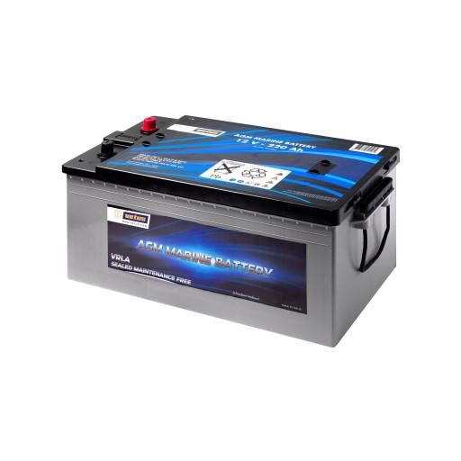 Vetus AGM Marine Bootsbatterie - 220 Ah