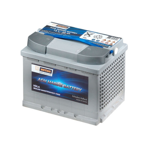 Vetus AGM Marine Bootsbatterie - 60 Ah