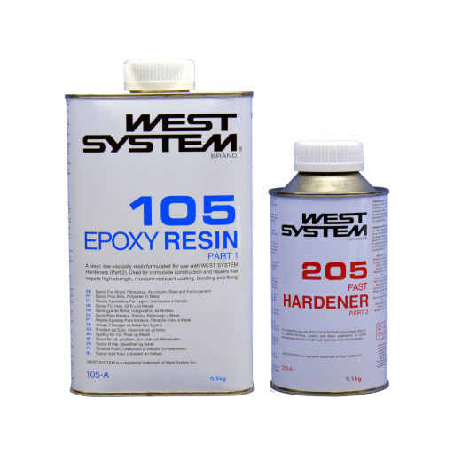 West System Junior-Pack Epoxid 105-205J - 600g