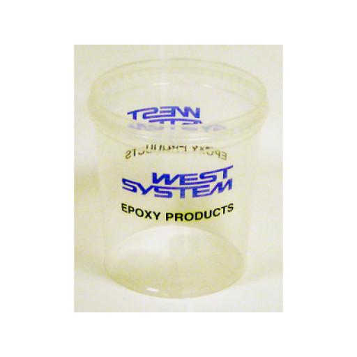 West System Mixbecher mit Maßeinheit - 800ml