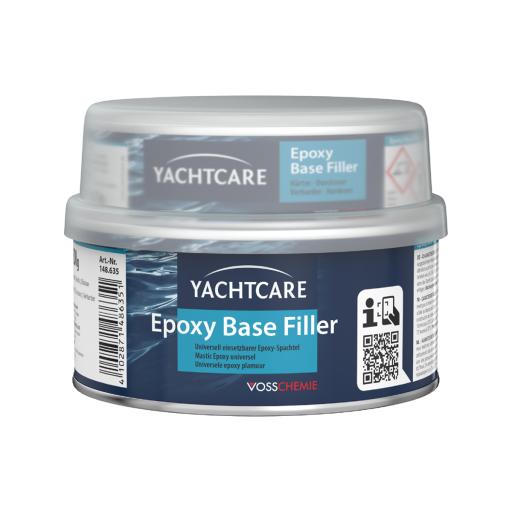 Yachtcare Epoxy Base Filler 2K Spachtelmasse hellgrau - 500g