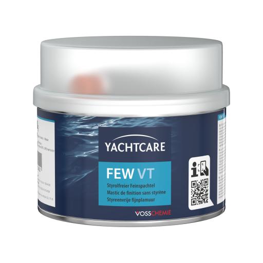 Yachtcare FEW VT Polyester 2K Feinspachtelmasse weiß - 500g