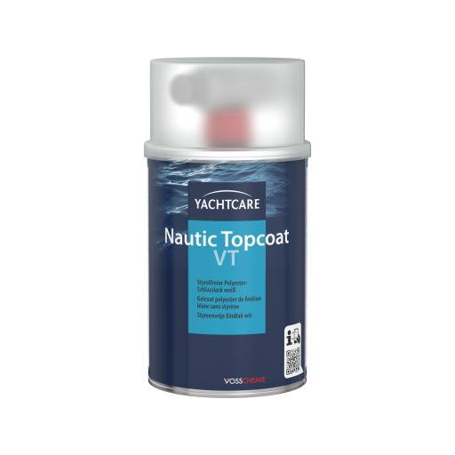 Yachtcare Nautic Topcoat VT Polyester Schlusslack inkl. Härter weiß - 500g