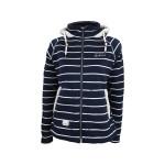 Dry Fashion Föhr Strickfleece-Jacke Damen marineblau
