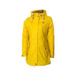 Dry Fashion Kiel Regenmantel Damen gelb