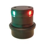 Aqua Signal Serie 34 Dreifarbenlaterne LED BSH - Gehäusefarbe schwarz