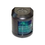 Aqua Signal Serie 41 Steuerbordlaterne - 12 Volt, Gehäusefarbe schwarz