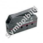 Easy Marine Easylock Midi Fallenstopper - 6-12mm Schot, schwarz, vierfach