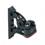 Harken 29mm Carbo Block - kippender Umlenk-Block mit 471 Klemme