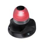 Hella Marine NaviLED 360 Signallaterne Rot BSH - Gehäusefarbe schwarz