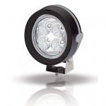 Hella Marine Serie 6136 LED Mega Beam Deckscheinwerfer - Gehäusefarbe schwarz