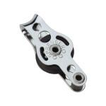 HS Sprenger Micro XS Block 6mm - einscheibig mit festem Bügel und Hundsfott