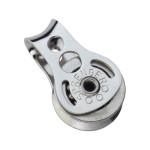 HS Sprenger Micro XS Block für Draht 4mm - einscheibig mit festem Bügel
