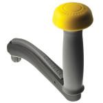 Lewmar One-Touch Winschkurbel - 200 mm, Sicherung, Griff mit Knauf