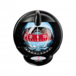 Plastimo Kompass Contest 101 - schwarz, mit roter Rose, 10-25° Neigung