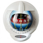 Plastimo Kompass Contest 101 - weiß, mit roter Rose, 10-25° Neigung