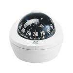 Plastimo Kompass Offshore 75 - weißer Sockel, mit schwarzer Rose