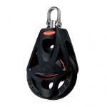 Ronstan Orbit Block Serie 55 BB - einscheibig mit Wirbelschäkel und Hundsfott
