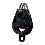 Ronstan Orbit Block Serie 55 BB - zweischeibig mit Looptop und Hundsfott